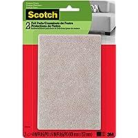 """Scotch almohadillas para orejas para orejas de fieltro (sp801-na), 4x6"""" Recángulo, 2 Pads"""