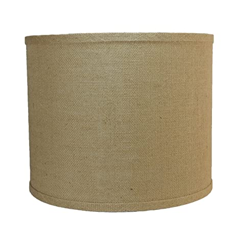 Urbanest burlap drum lamp shade 12 inch by 12 inch by 10 inch urbanest burlap drum lamp shade 12 inch by 12 inch by 10 aloadofball Choice Image