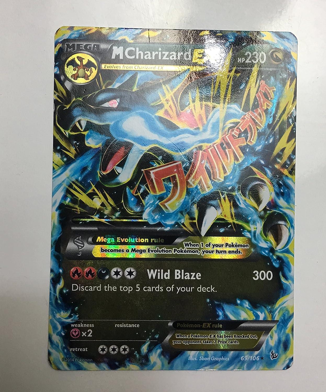 Mega Charizard y-Custom Pokemon Card