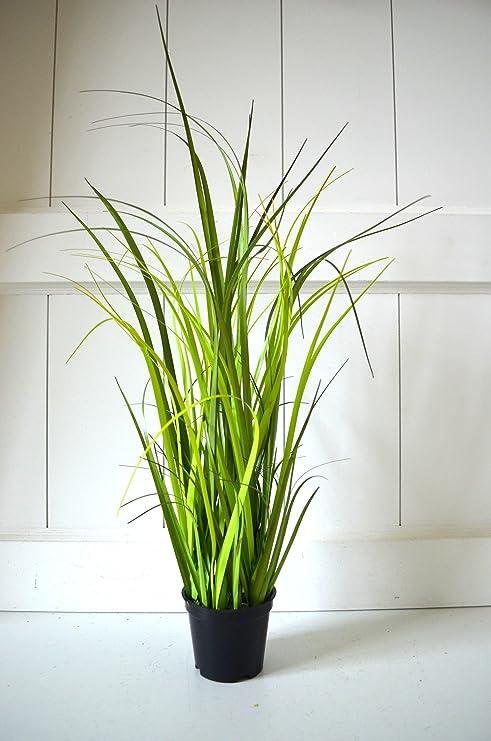 Graser Topf Gras Deko Grun Zimmerpflanze Grasbuschel Pflanze 40cm Tischdeko Deko Dekoblume Blume Kunstlich Kunstpflanze Fensterdeko Deko Fur Bad