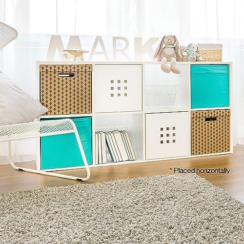 CAP LIVING Room Cube Organizer w/ Bins