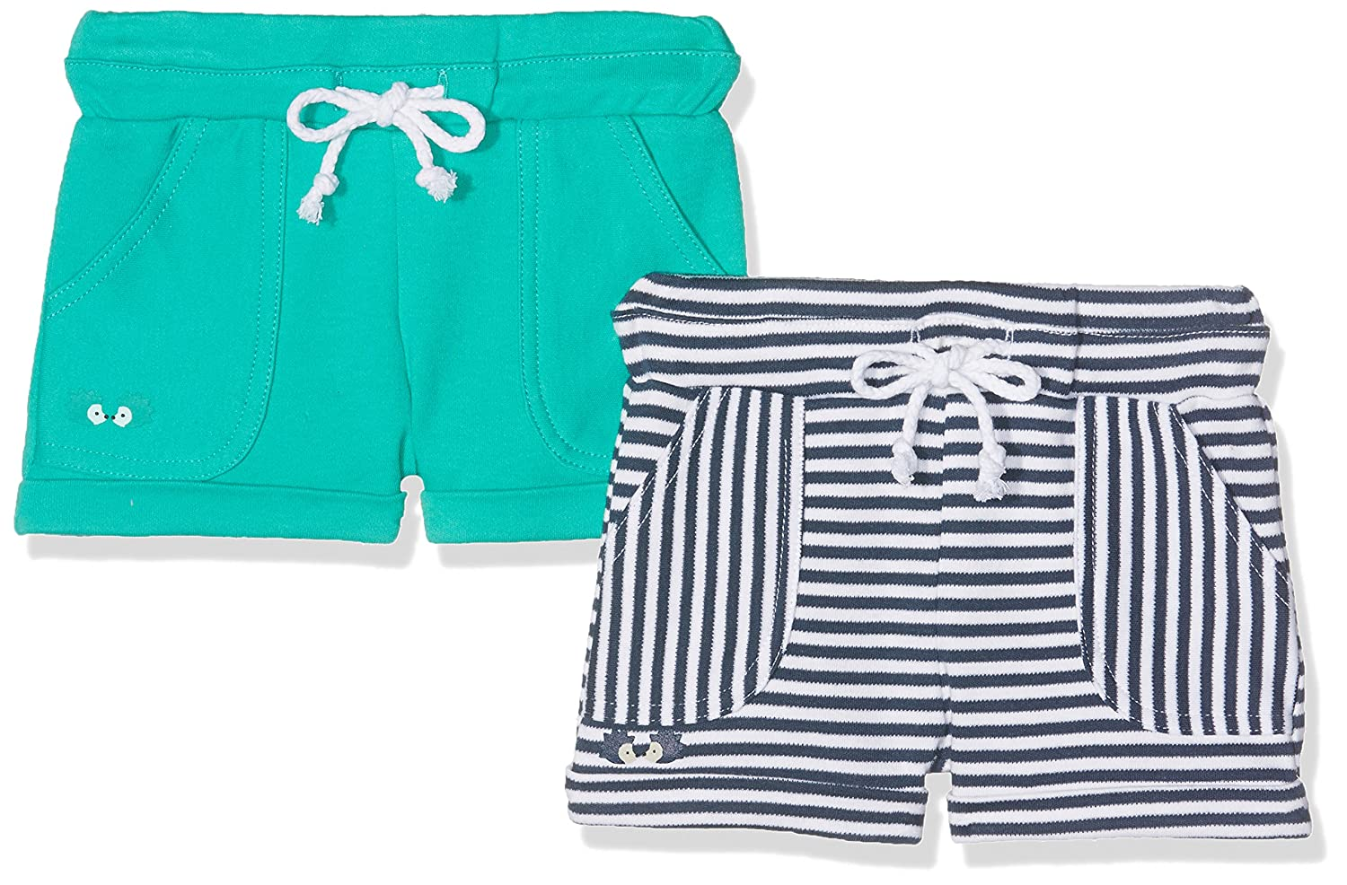Twins Linus, Short Bebé unisex, Pack de 2 1 701 25