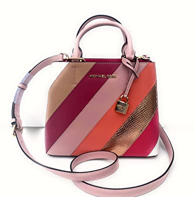 1a64268b3eb5 ... norway michael kors adele md messenger leather blossom 35t8gafm6m e5626  744fe