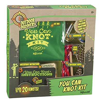 Outdoor Discovery You Can Knot Kit, Learn to Tie Knots, Scouting and Camping: Toys & Games