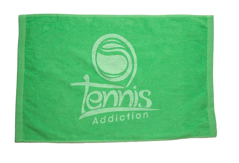 Tennis Addiction Tennis Towel Green 25 X 16 Turkish Cotton Gift for Tennis Player Tennis Lover 2moms