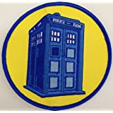 DOCTOR WHO British TV Series 4 inch Tardis PATCH