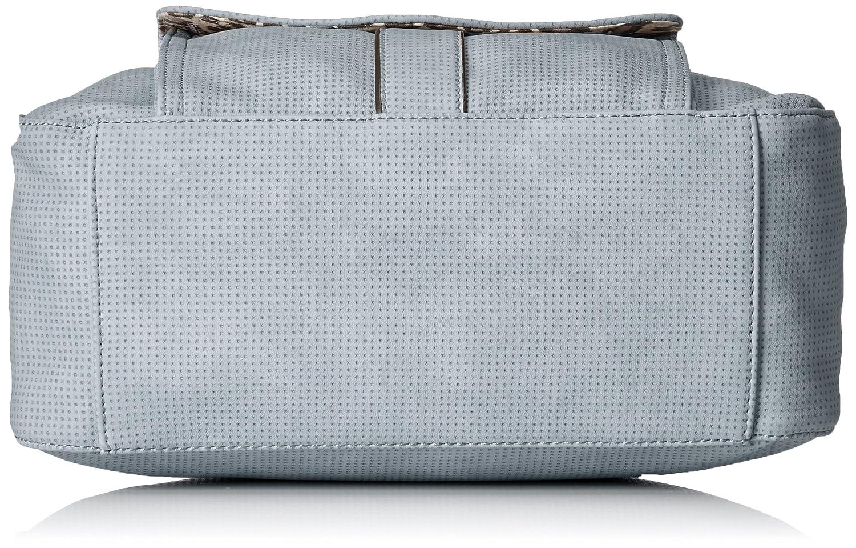 Tamaris dam Adriana Hobo Bag S axelväska, 12 x 29 x 25 cm Grå (ljusgrå)