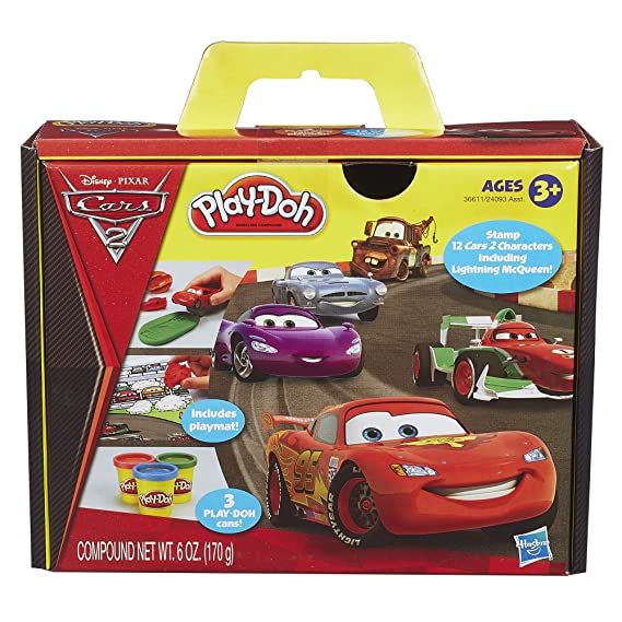 sc 1 st  Amazon.com & Amazon.com: Play-Doh Cars 2 Set: Toys u0026 Games