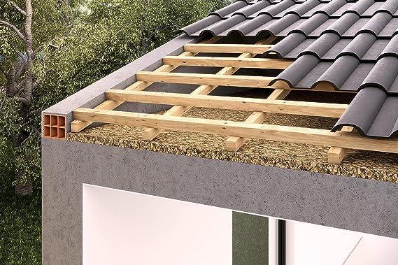 Corcho aislante placa para edificios aislamiento/aislamiento del techo/pared aislamiento/aislamiento de techo/Cabañas etc. Kim Kranholdt Sonderposten (100 x 50 x 2 cm): Amazon.es: Bricolaje y herramientas