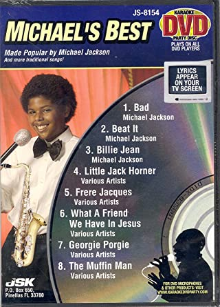 Amazon com: Michael's Best (Michael Jackson) (Karaoke DVD Party Disc