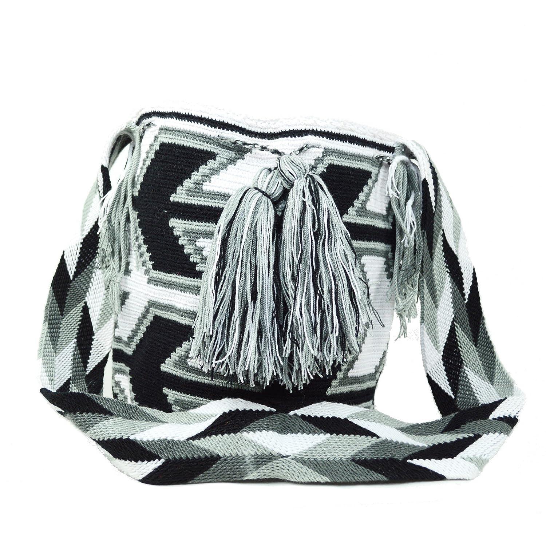 Wayuu Mochila Bags レディース カラー: ブラック B06VXR46GR