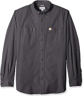d8fecce6156 Carhartt Men's Rugged Flex Rigby Long Sleeve Work Shirt (Regular and Big &  Tall Sizes