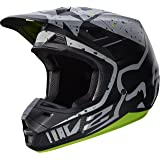 2017 Fox Racing V2 Nirv Helmet-Grey/Yellow-XL