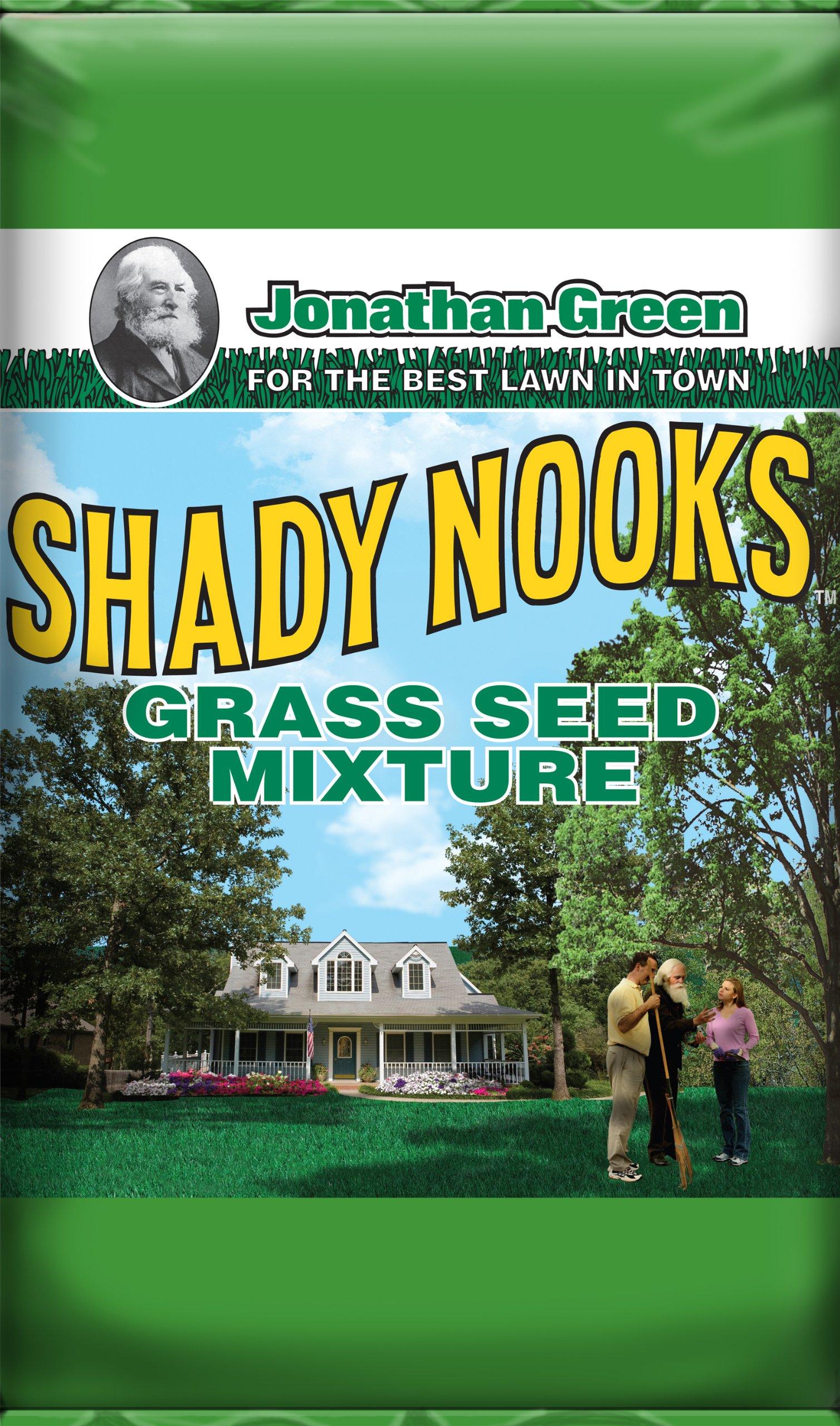 Jonathan Green Shady Nooks Grass Seed, 25-Pound