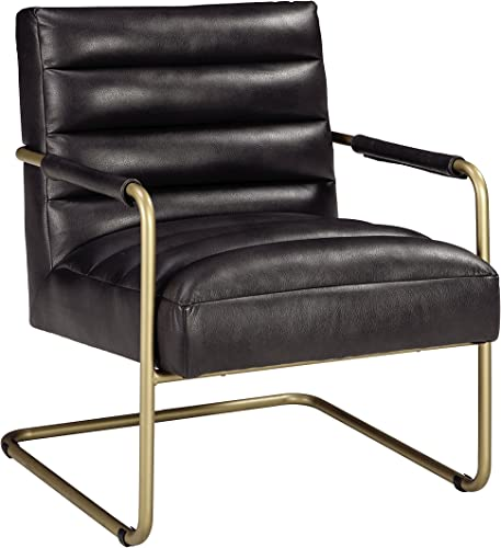Signature Design by Ashley – Hackley Accent Chair – Urban Style – Black Gold