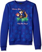 Alex Stevens Men's Play With My Nuts Ugly Christmas Sweater