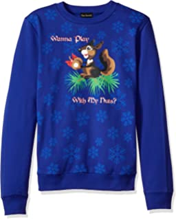 edf0a97cd6d0 Alex Stevens Men s Unicorn Rainbow Santa Ugly Christmas Sweater at ...