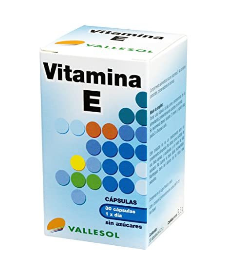 Vallesol Vitamina E - 30 cápsulas