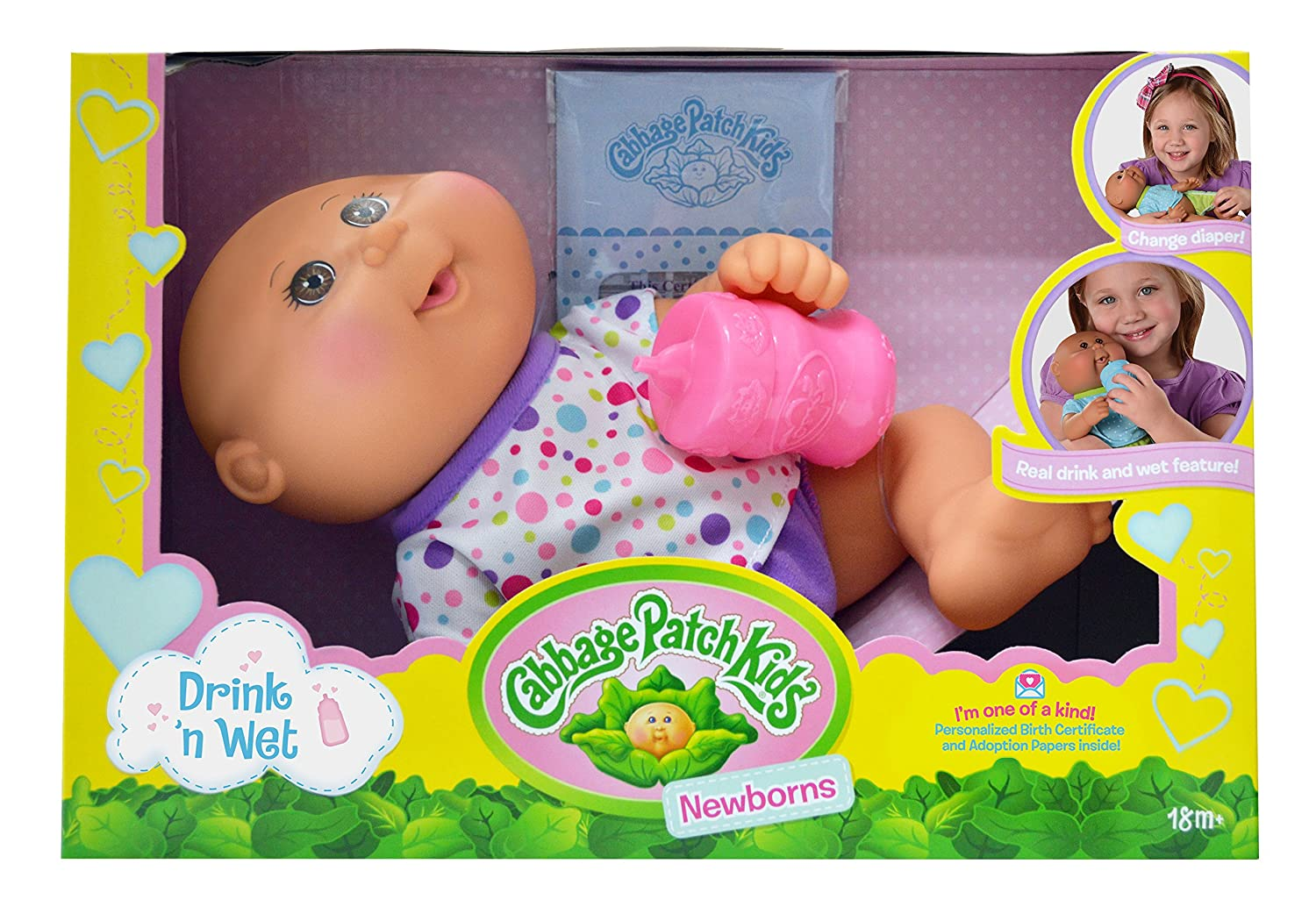 Amazon cabbage patch kids 11 drink n wet tan newborn toys amazon cabbage patch kids 11 drink n wet tan newborn toys games aiddatafo Images