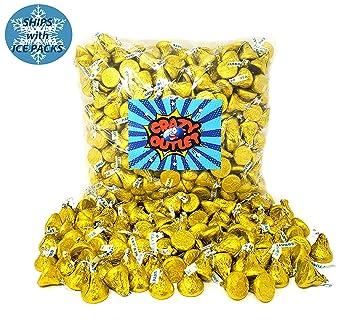 Hersheys Kisses - Láminas amarillas para chocolate de leche ...