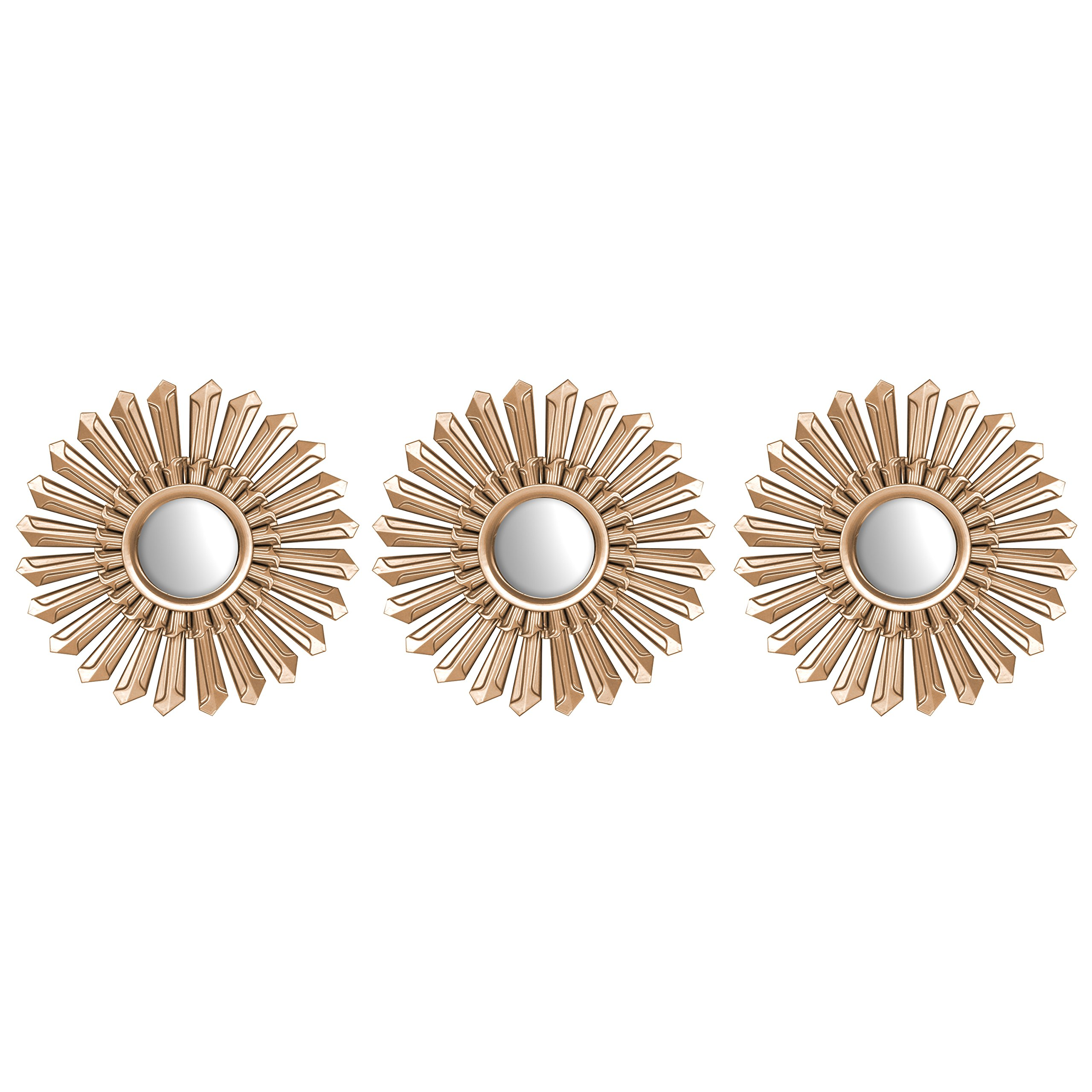 Urban Shop 784857762303 Metallic Mirror, Bronze