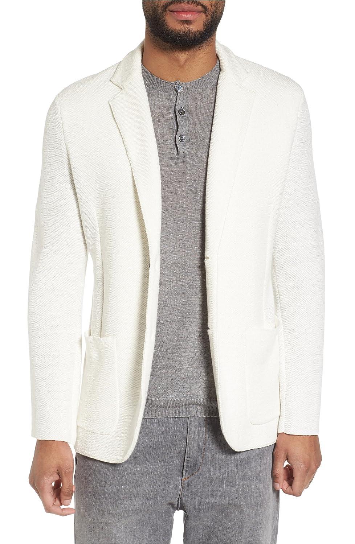 [イレブンティ] メンズ ジャケットブルゾン Eleventy Slim Fit Linen Blend Sweater Ja [並行輸入品] B07B9T5GVL Large