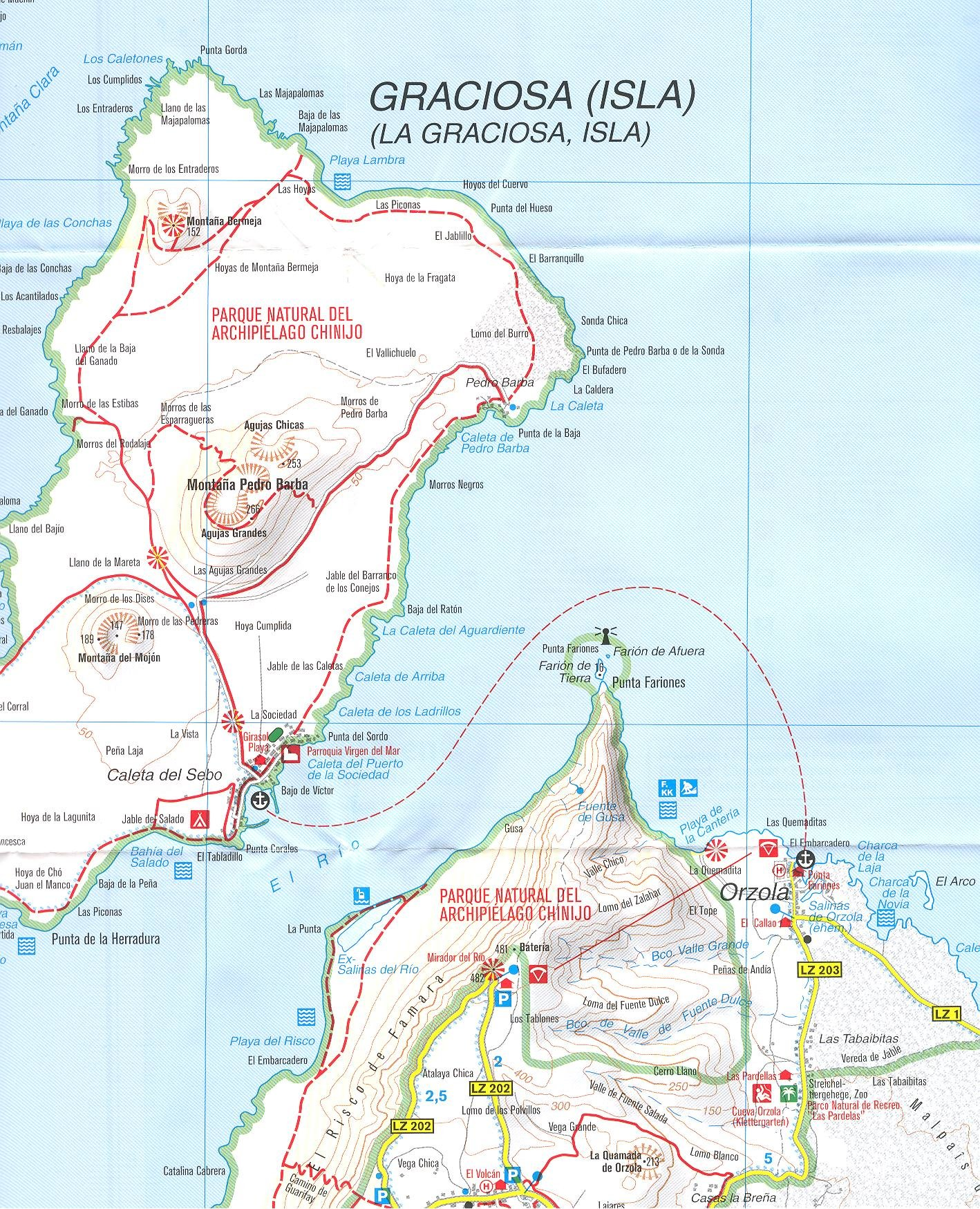 Cartina Lanzarote.Lanzarote 1 50 000 Contoured Hiking Map Gps Precise Kompass 2012 Edition Kompass 9788074321863 Amazon Com Books