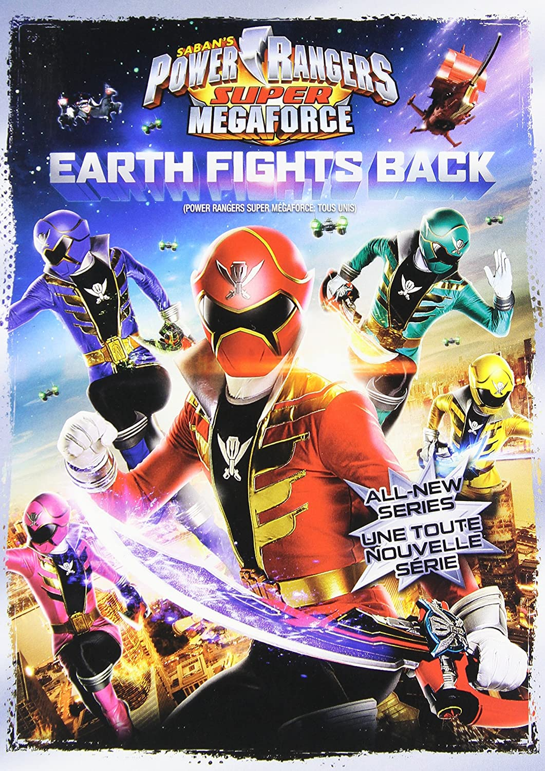 Amazon.com: Power Rangers Super Megaforce V1: Movies & TV