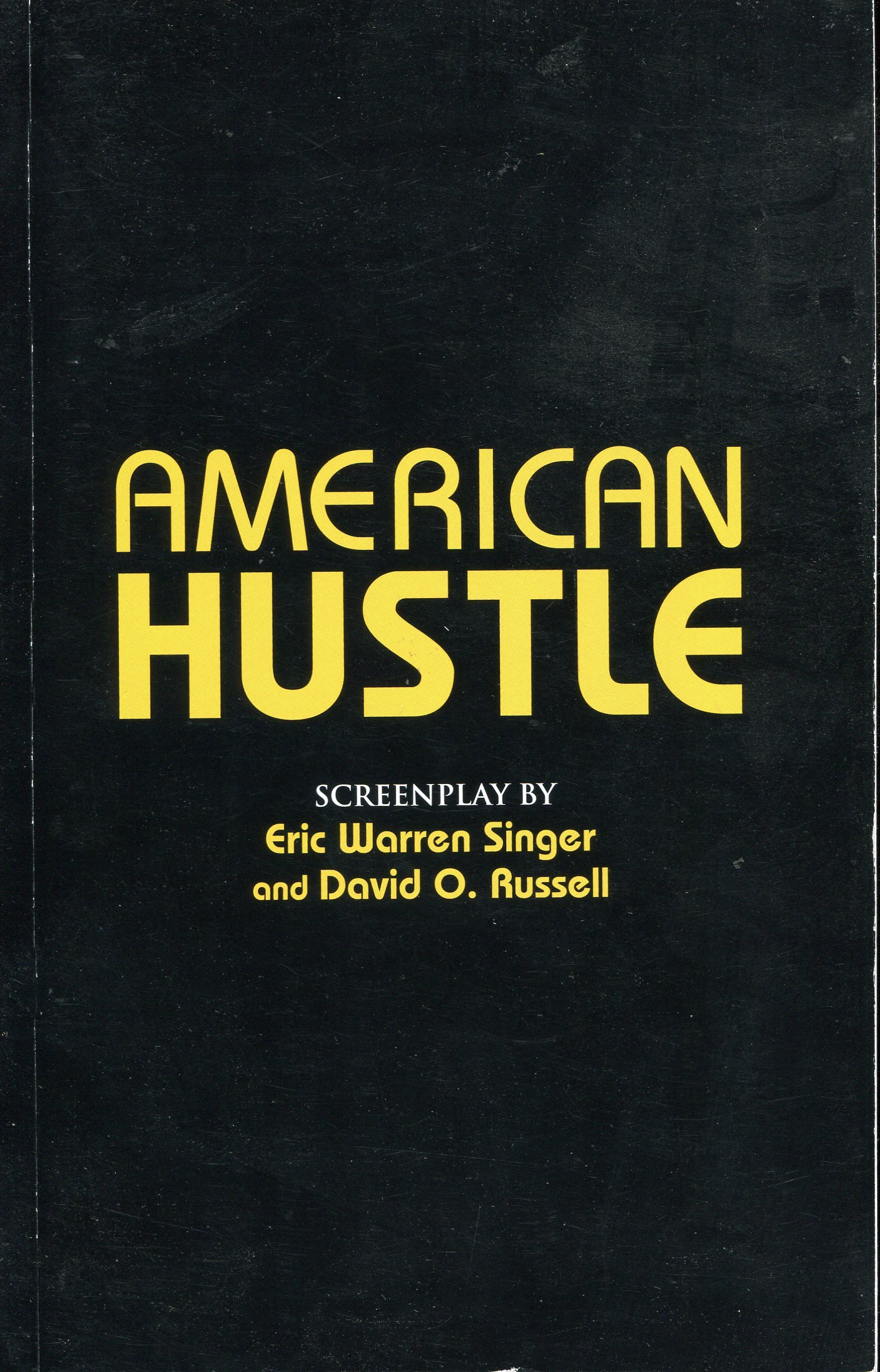 American Hustle Screenplay Pdf