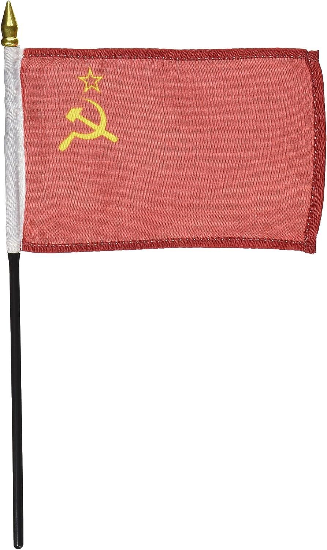 US Flag Store USSR Flag 4 x 6 inch