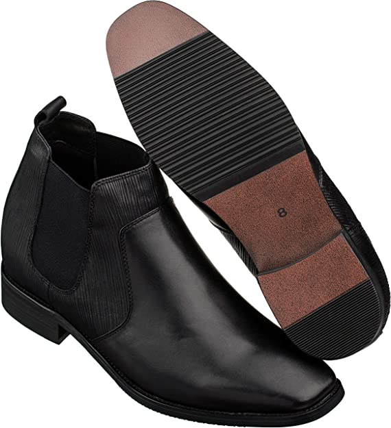 Chelsea Boots - 2.8 Inches Taller