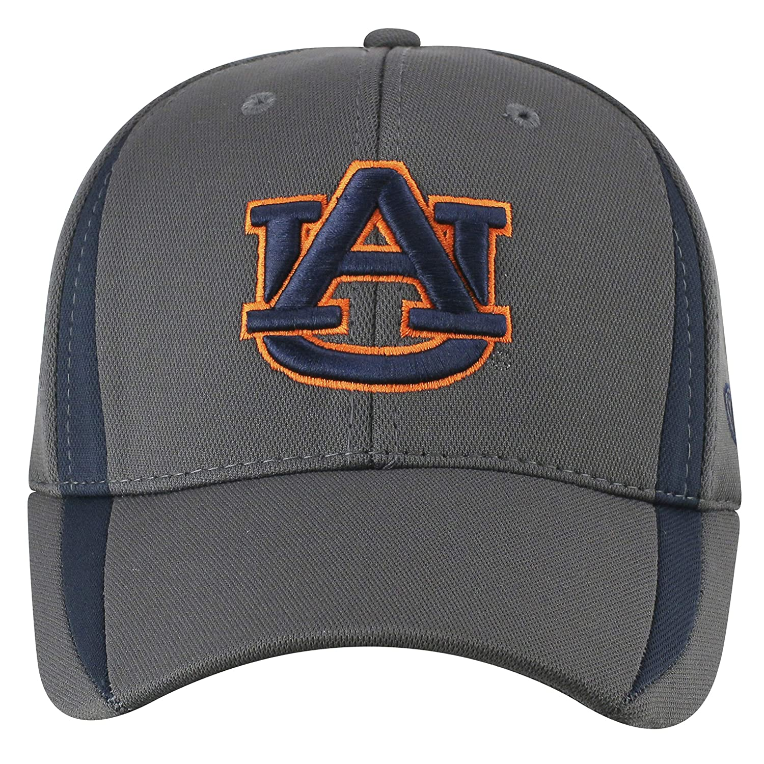 Top of the World NCAA Mens Hat Performance Fitted Charcoal Icon