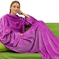 Winthome Wearable Blanket with Sleeves Deals