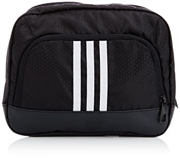 1e8b8a4e3429 adidas Men s 3 Stripes Performance Wash Kit Bag - Black White White ...