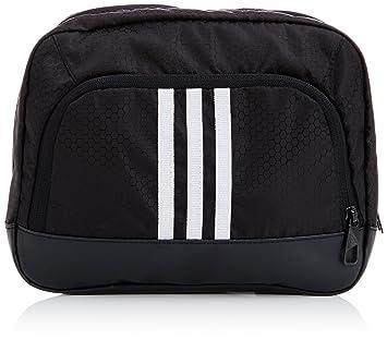 9648701218 adidas Men s 3 Stripes Performance Wash Kit Bag - Black White White ...