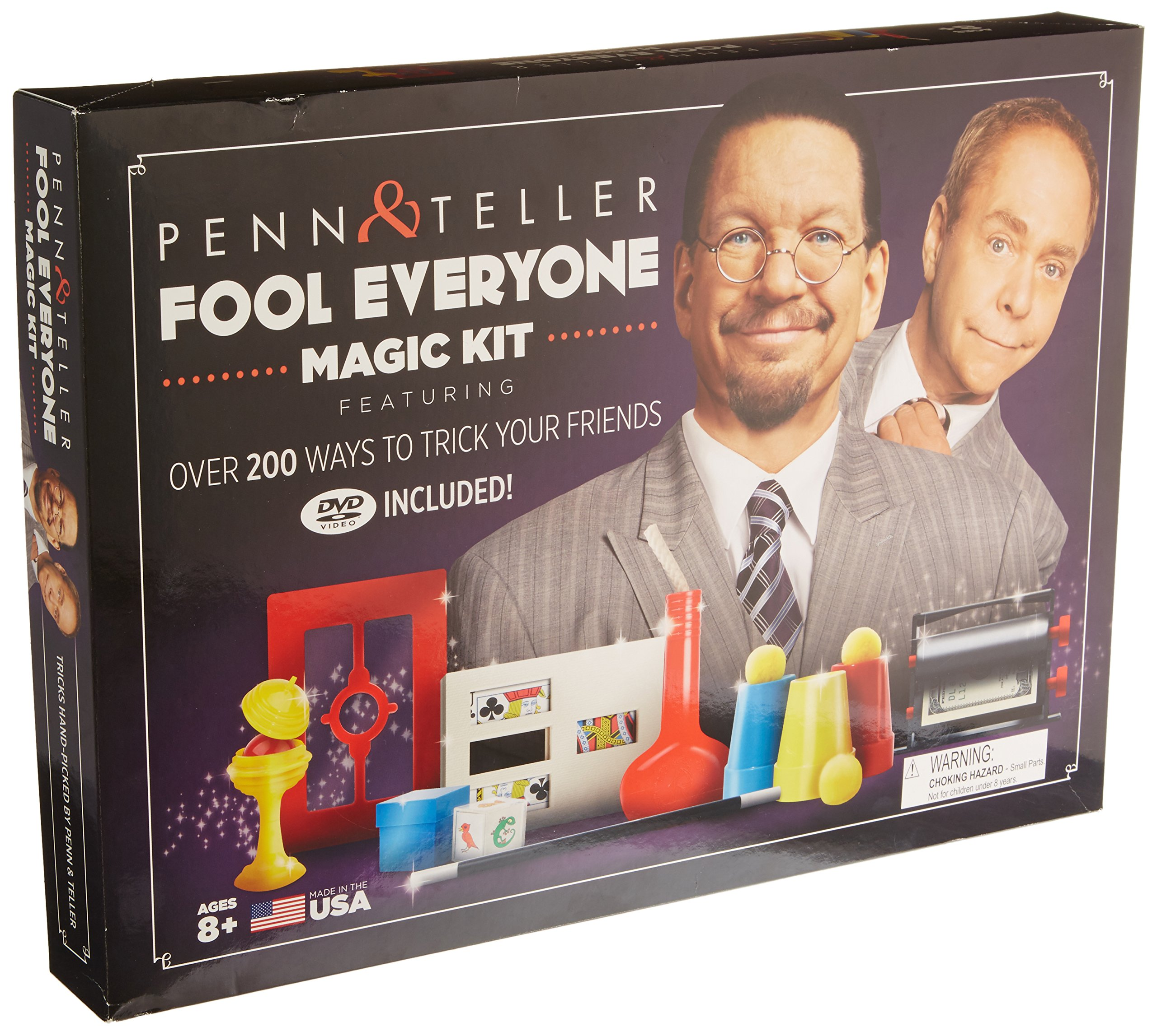 The Penn & Teller Fool Everyone Magic Kit - Over 200 Ways To Trick Your Friends by Fun Inc. (Image #2)