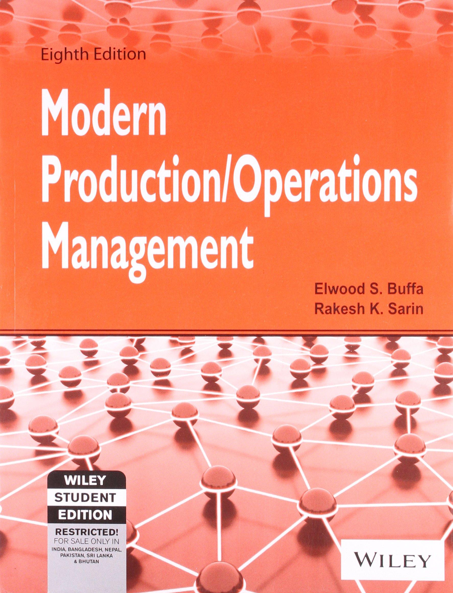 Production Management Book Pdf