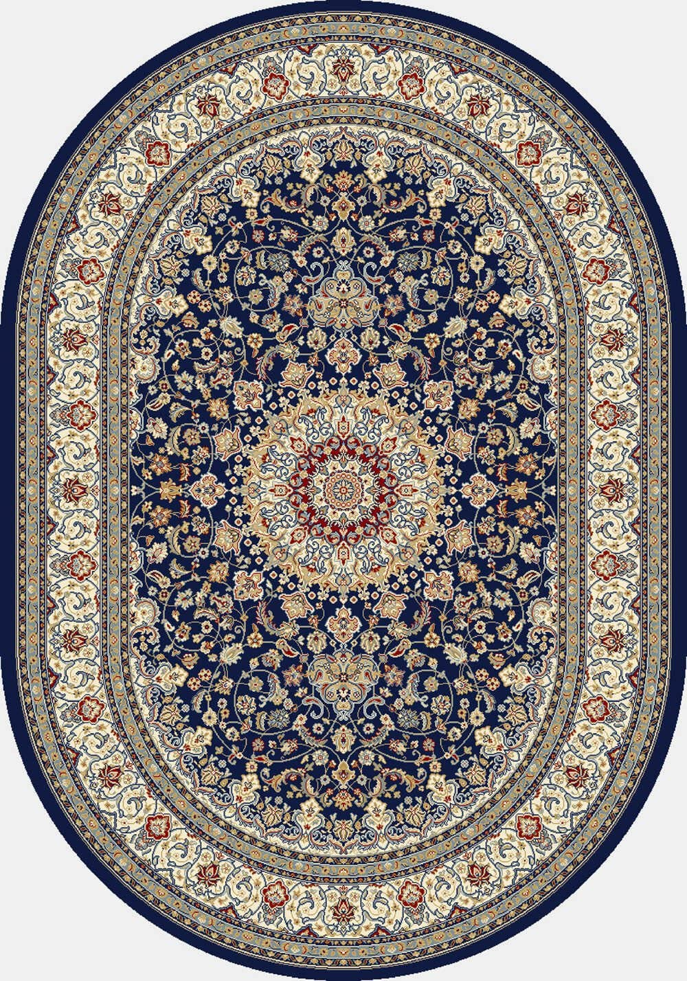 Dynamic Rugs Ancient Garden Collection Area Rug