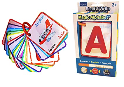 Ingenio Magic Alphabet Flash Cards Toys Games