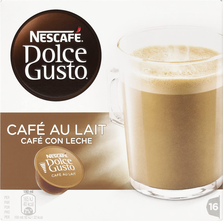 Cafe Dolce gusto CAFE CON LECHE | NESTLE Pack 3 cajas de 16 ...