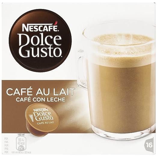6 opinioni per Nescafé Dolce Gusto Caffelatte- Confezione da 3 Scatole da 16 Capsule