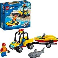 LEGO® City Beach Rescue ATV 60286 Building Kit