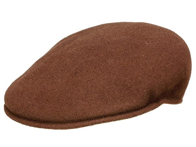 Kangol Wool 504 - Gorra plana para hombre - marrón: Amazon.es: Ropa y accesorios