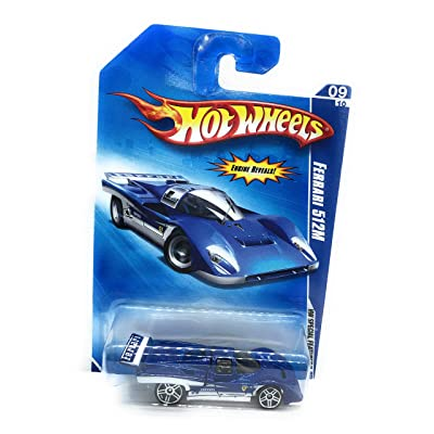 Hot Wheels 2009 HW Special Features Blue Ferrari 512M: Toys & Games [5Bkhe0804929]