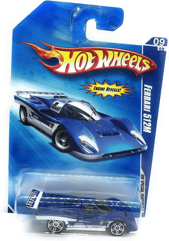 Hot Wheels 2009 Hw Special Features Blue Ferrari 512m Amazon De Spielzeug