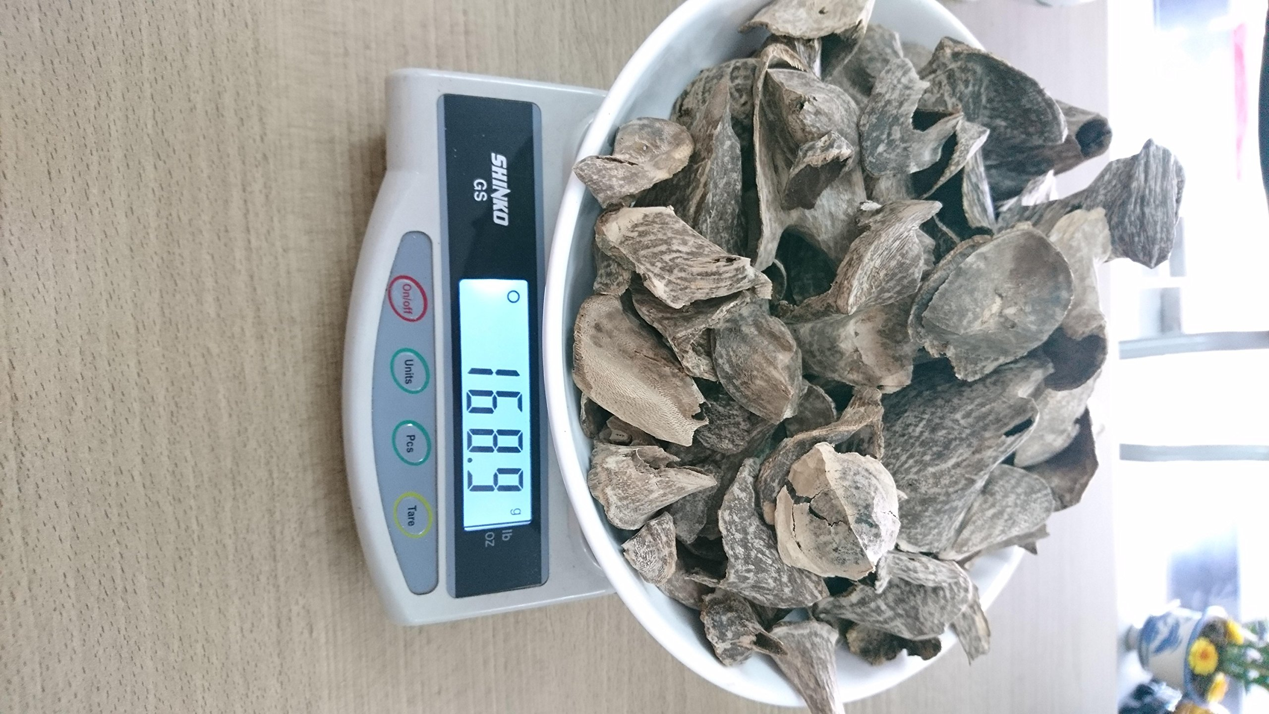 Wild agarwood chips - Cone Shape - Only having 168grams - Full of oil - Sweetest
