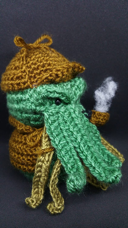 Sherlock Cthulhu Holmes wooldoll