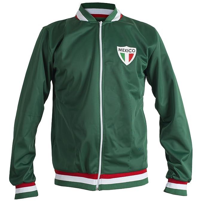 JL Sport México Coupe Du Monde De Fútbol De 1970 Retro Chaqueta ...