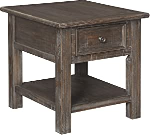 Signature Design by Ashley Wyndahl Rectangular End Table Rustic Brown