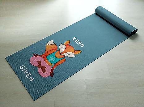 Amazon.com: Colorful – Esterilla de yoga (Zero Fox Given ...